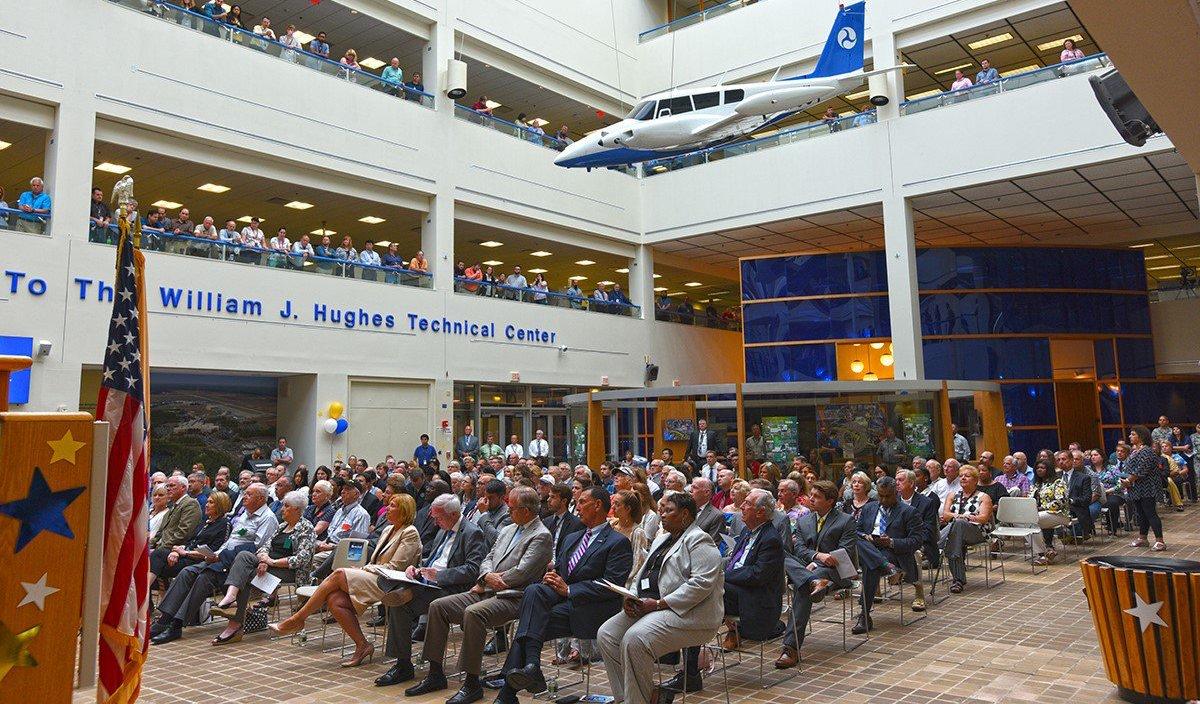 A presentation at the William J Hughes Technical Center